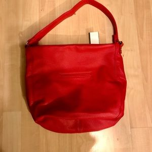New bright red jewel by 31 purse